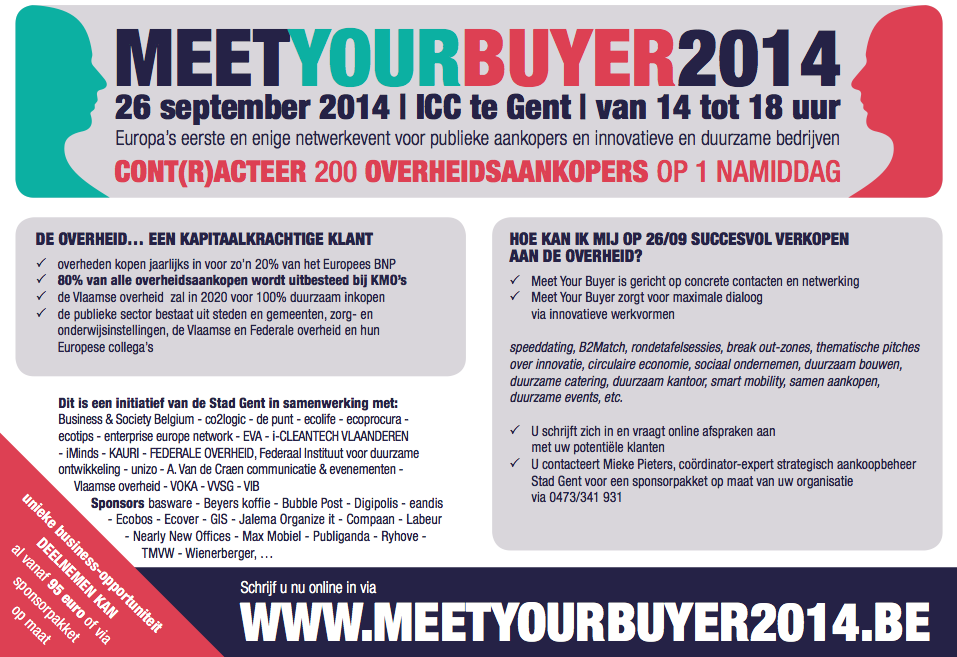Advertentie Meet Your Buyer
